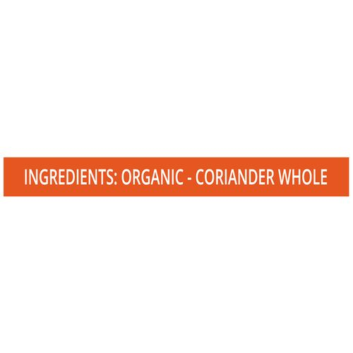 Pro Nature Organic - Coriander Whole, 200 gm Pouch