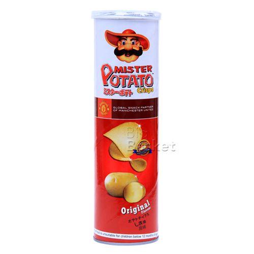 Mister Potato  Crisps - Original Flavour, 130 g