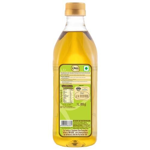 Oleev Pomace Olive Oil - For All Types Of Cooking, 1 L