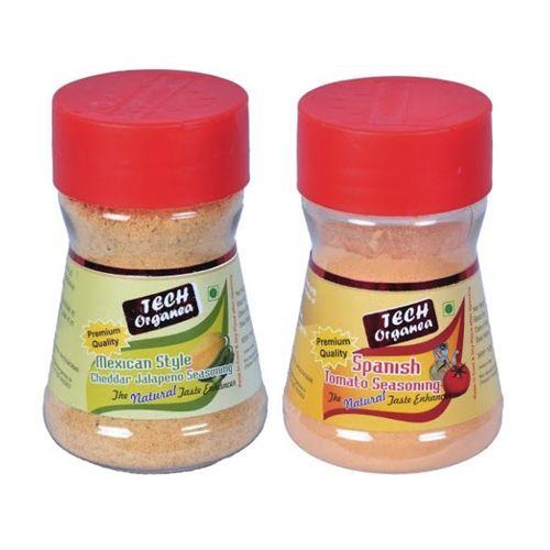 Tech Organea Seasoning - Mexican Style Cheesy Jalapeno Popcorn, 50 gm Bottle