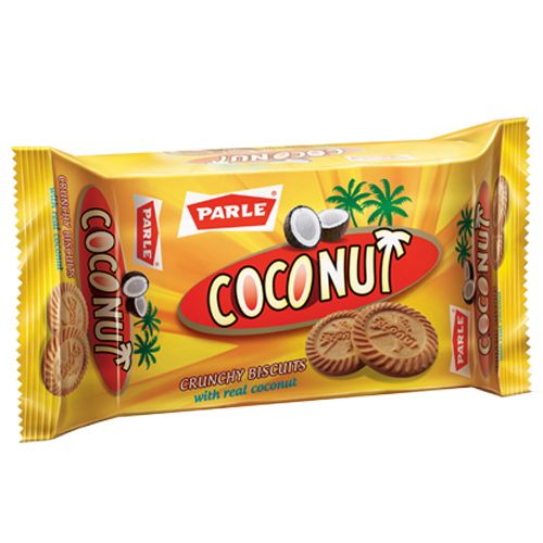 Parle Biscuits - Coconut Crunchy, 108 g Pouch