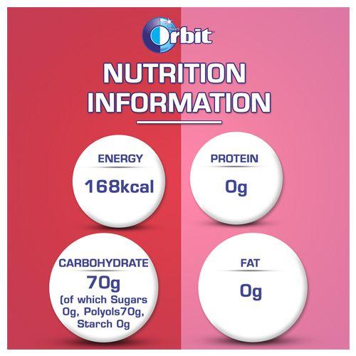 Orbit Wrigleys Chewing Gum - Mixed Fruit, 15 Pcs