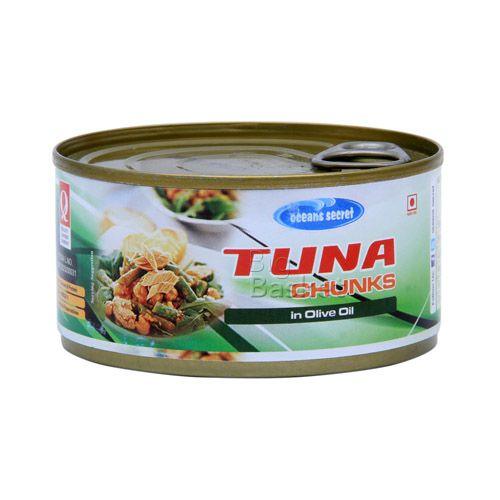 Ocean Secret Tuna Chunks in - Olive Oil, 180 gm