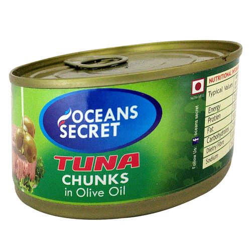 Ocean Secret Tuna Chunks in - Olive Oil, 180 g