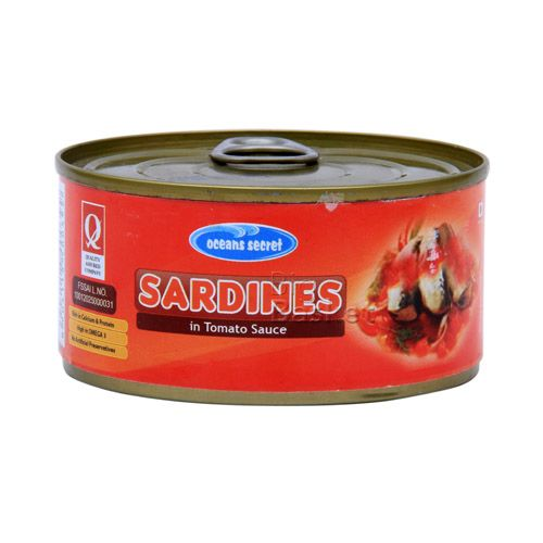Ocean Secret Sardines in - Tomato Sauce, 180 g Tin