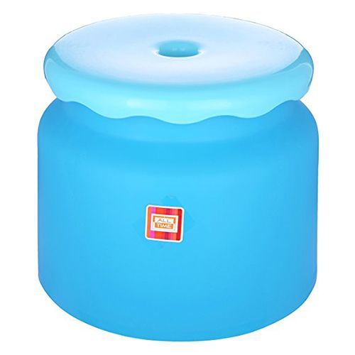 Buy All Time Frosty Bathroom Stool Blue 1 Pc Online At Best Price