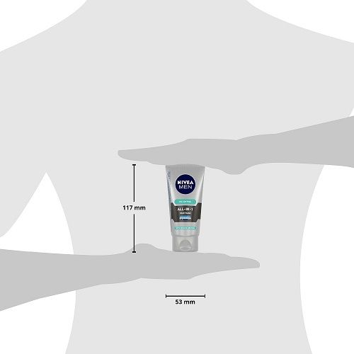 Nivea Men - All-In-One Face Wash, 50 gm