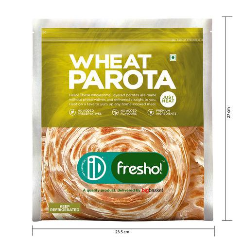 iD Fresho Whole Wheat Parota, 350 g