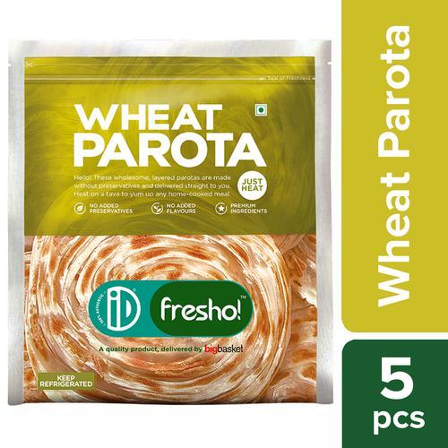 iD Fresho Whole Wheat Parota/Paratha, 350 g