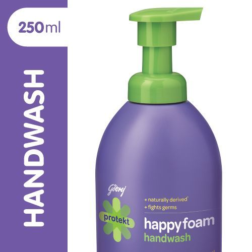 Godrej Protekt Happyfoam Handwash, 250 ml