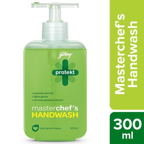 Protekt Masterchefs Germ Protection Liquid Hand Wash, 300 ml Bottle