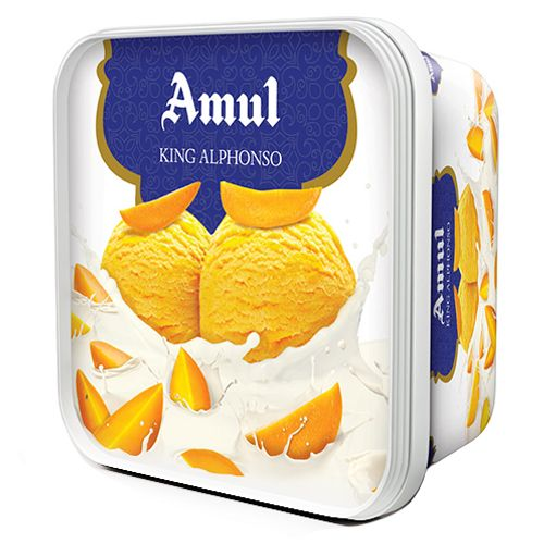 buy amul ice cream king alphonso 1 lt box online at best