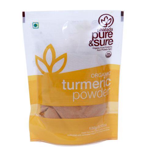 Phalada Pure & Sure Organic - Tumeric Powder, 100 g Pouch