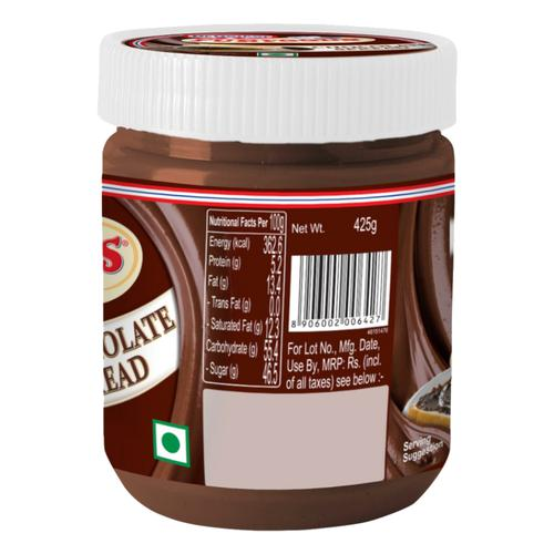 Dr. Oetker FunFoods Chocolate Spread, 425 g