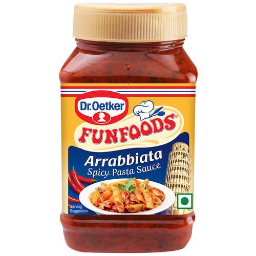 Dr. Oetker Funfoods Arrabbiata Spicy Pasta Sauce, 325 g