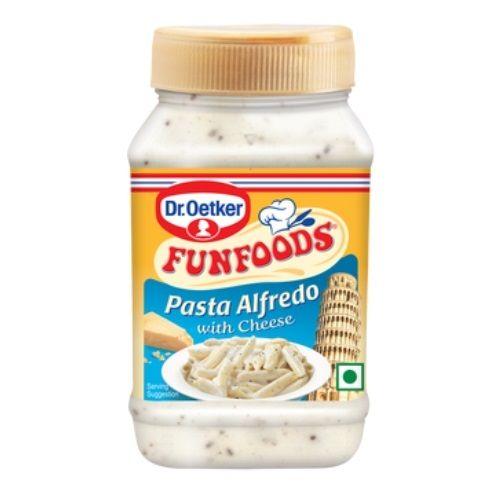 FunFoods Pasta Sauce - Alfredo with Cheese, 275 gm PET