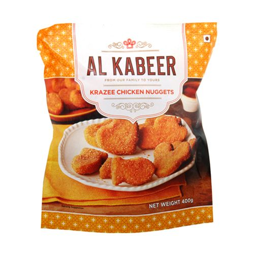 Buy Al Kabeer Nuggets Krazee Chicken 400 Gm Online At Best