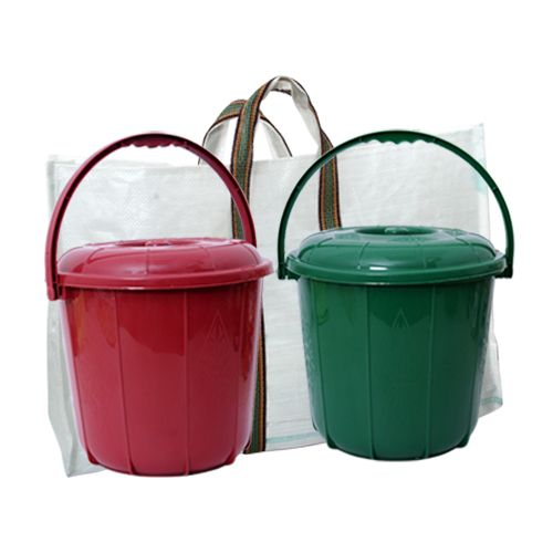 KMB Waste Segregation Kit - 2 Bins , 1 Bag, 3 pcs
