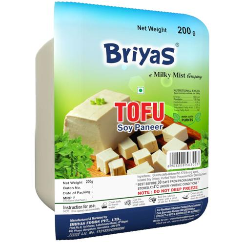 Briyas Tofu - Soya Paneer, 200 g