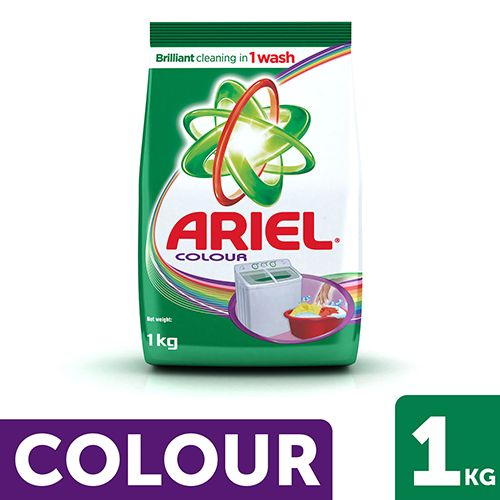 Buy Ariel Detergent Powder Colour Style 500 Gm Pouch Online Now From