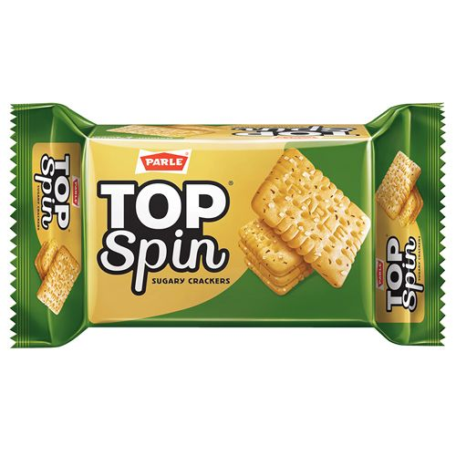 Parle Crackers - Top Spin, 76.95 g Pouch