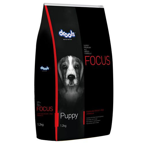 Drools Dog Food - Super Premium, Focus Puppy, 1.2 kg