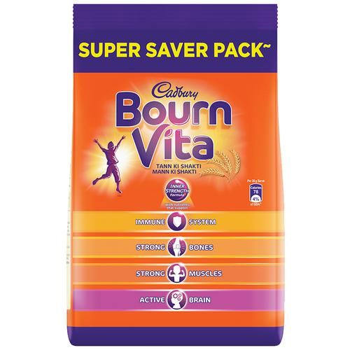 Bournvita Chocolate Health Drink - Bournvita, 750 g Pouch