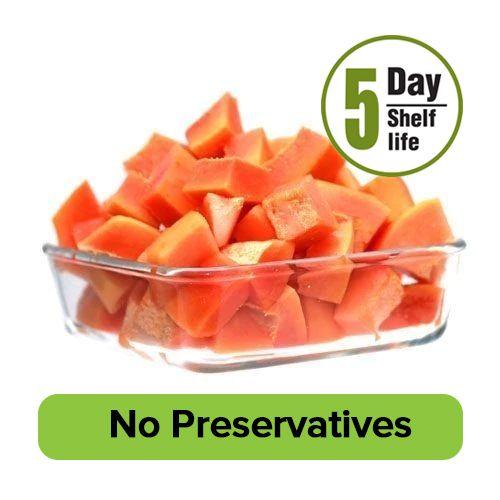 Fresho Papaya- Diced, 200 g