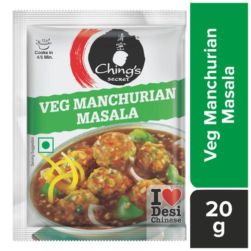 Chings Secret Veg Manchurian Masala, 20 g Pouch
