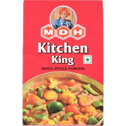 Mdh masala kitchen king 50 gm carton buy online at best for Kitchen king masala