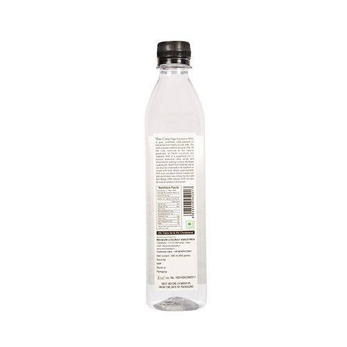 Maxcare Coconut Oil - Virgin (Cold Pressed), 500 ml