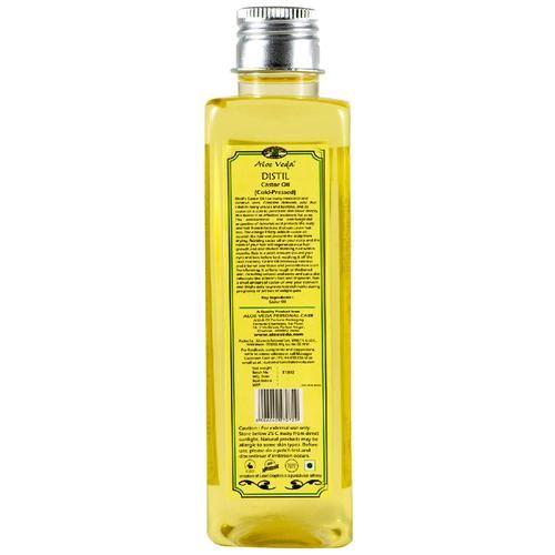 Aloe Veda Cold Pressed Castor Oil - Hexane Free, 200 ml