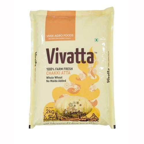 Vivatta Atta - Chakki Fresh, 2 kg Pouch