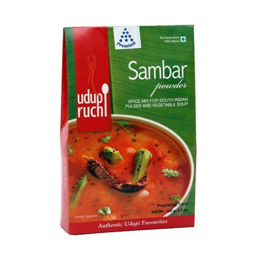 Udupi Ruchi Powder - Sambar, 100 g Carton