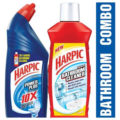 Buy Harpic Combo Power Toilet Cleaner Bathroom Cleaner