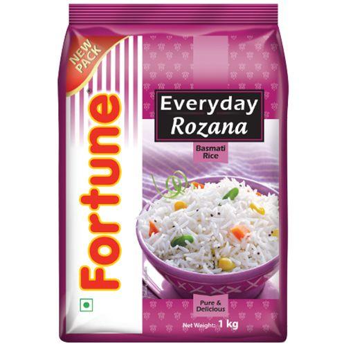 Fortune  Basmati Rice - Rozana, 1 kg Pouch