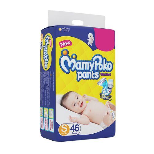 Mamypoko Pants Standard Small - 46 Diaper, 46 pcs Pouch