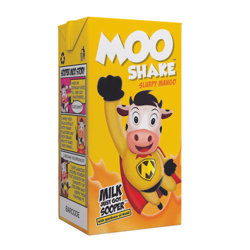 MooShake Milk Shake - Slurpy Mango, 160 ml