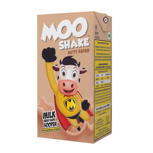 MooShake Milk Shake - Nutty Badam, 160 ml