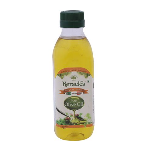 Heracles Olive Oil - Pure, 500 ml Bottle
