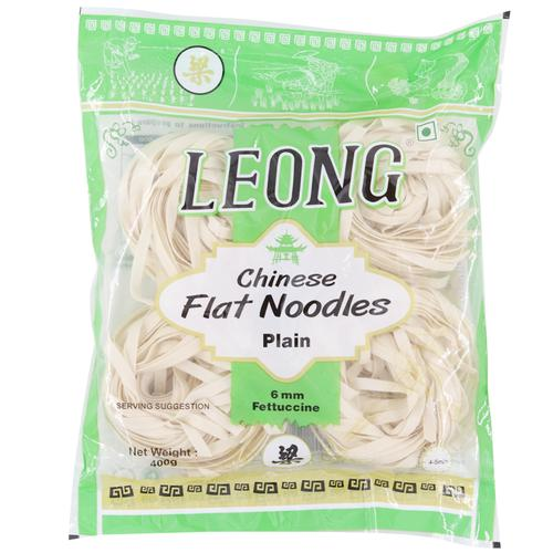 Leong Noodles - Plain Chinese Flat, 400 g