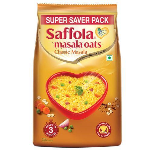 Saffola Masala Oats - Classic Masala, 400 g Pouch