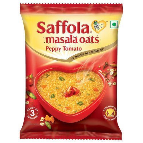 Saffola Masala Oats - Peppy Tomato, 39 g Pouch