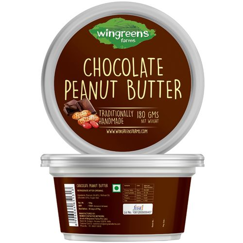 Wingreens Farms Chocolate Peanut Butter, 180 gm