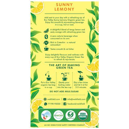 Eco Valley  Sunny Lemony, 30 pcs