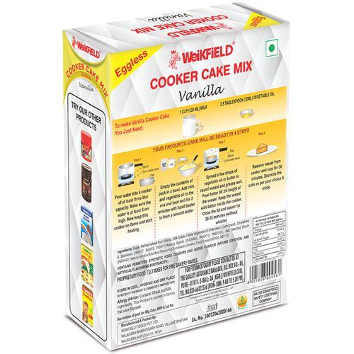 Weikfield Cooker Cake Mix - Vanilla, 150 g