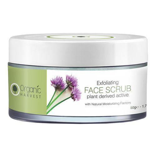 Organic Harvest Exfoliating Face Scrub, 50 g