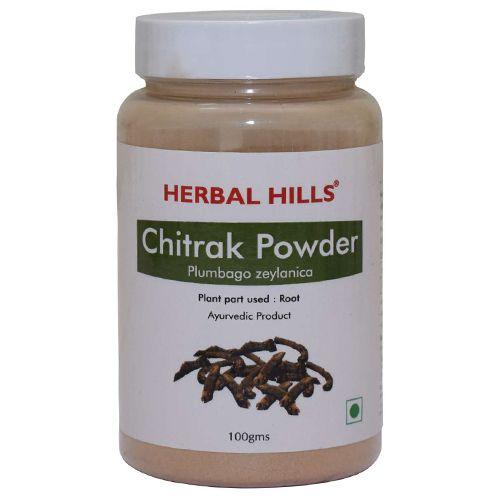 Herbal Hills Chitrak Root Powder, 100 g