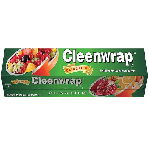 Clean Wrap  Cling Film Plastic Wrap, 30 mtr