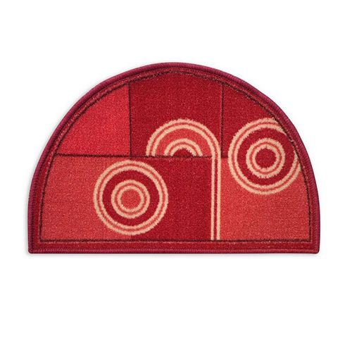 STATUS Multicolour Door Mat - Taba semi circle, 1 pc